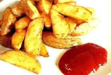 Fries, Wedges, Potato