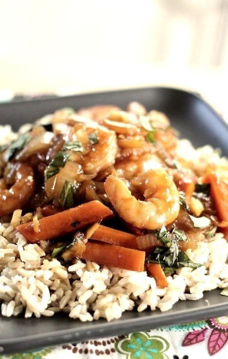 Teriyaki Shrimp & How To Make Teriyaki Sauce