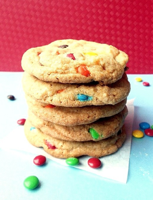 Recipe: Chewy M&M Cookies