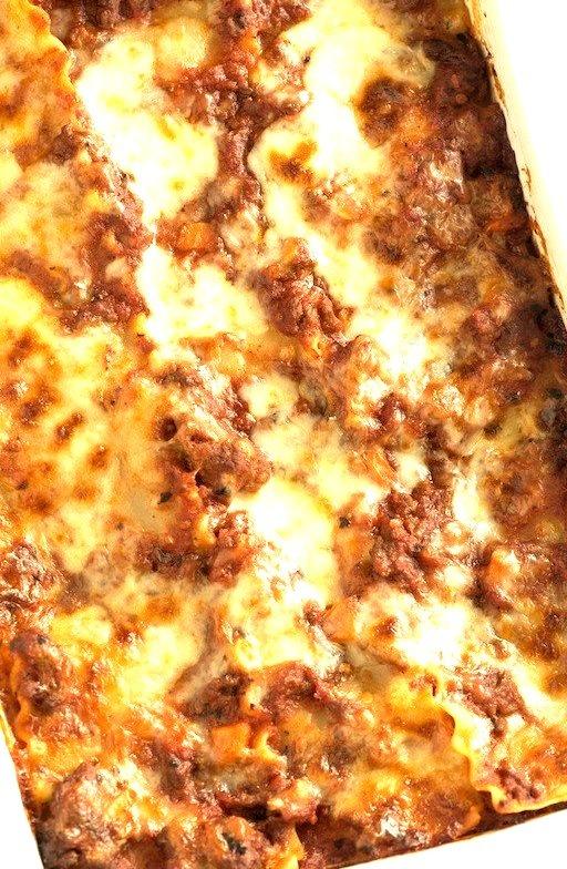 Recipe: Cheese, Sausage & Beef Lasagna