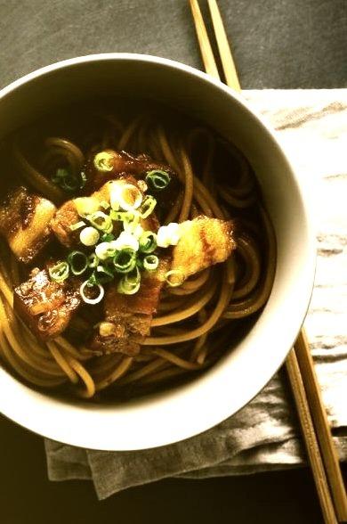 Vietnamese Caramelized Pork Belly PastaSource