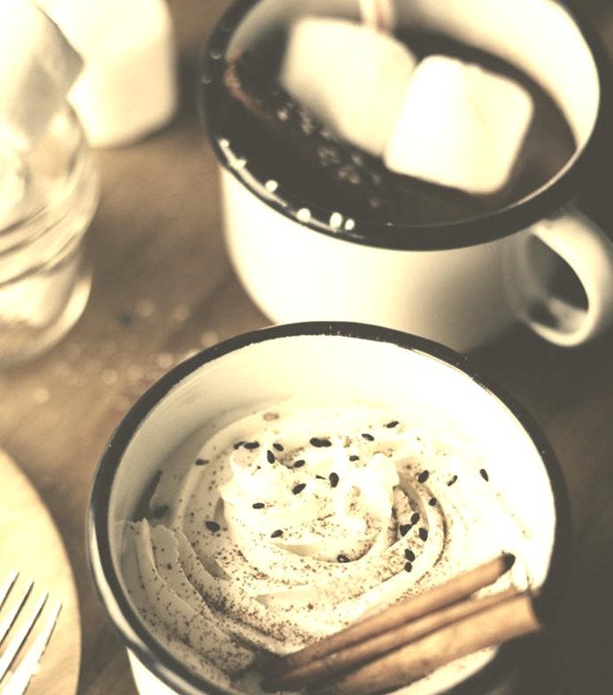 Tahini hot Chocolate